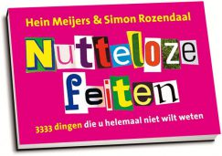 Hein Meijers & Simon Rozendaal - Nutteloze feiten (dwarsligger)