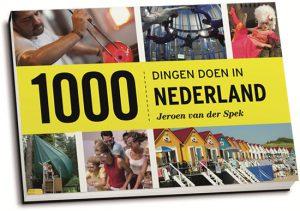 Jeroen van der Spek - 1000 dingen doen in Nederland (dwarsligger)