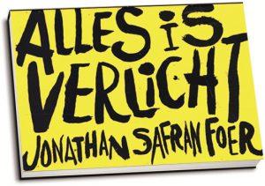 Jonathan Safran Foer - Alles is verlicht (editie 2012) (dwarsligger)