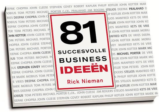 Rick Nieman - 81 succesvolle businessideeën (dwarsligger)