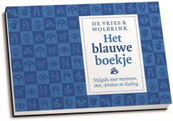 Stefan de Vries & Roel Wolbrink - Het blauwe boekje (dwarsligger)
