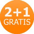 Dwarsligger actie 2+1 gratis, zomer aanbieding 2013