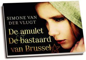 Simone van der Vlugt - De amulet & De bastaard van Brussel (dwarsligger)
