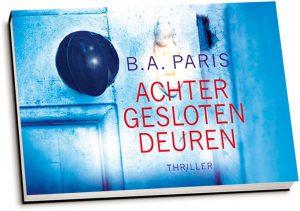 B.A. Paris - Achter gesloten deuren (dwarsligger)
