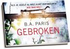 B.A. Paris - Gebroken