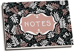 Floor Rieder - Notitieboekje 'Notes' (dwarsligger)