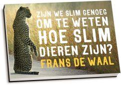 Frans de Waal - Zijn we slim genoeg om te weten hoe slim dieren zijn? (dwarsligger)
