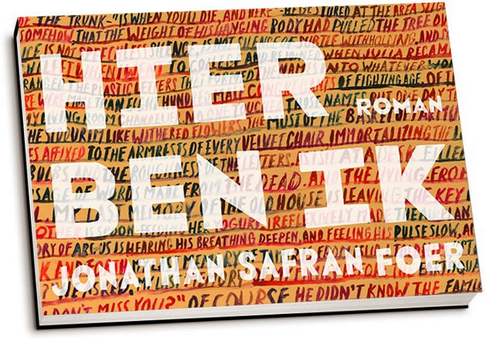 Jonathan Safran Foer - Hier ben ik (dwarsligger)
