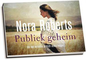 Nora Roberts - Publiek geheim (dwarsligger)