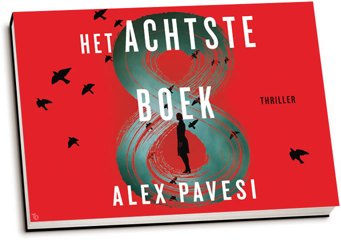 Alex Pavesi - Het achtste boek (dwarsligger)