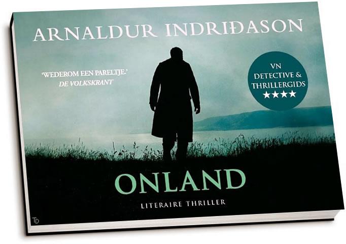 Arnaldur Indriðason - Onland (dwarsligger)