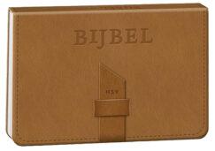 Bijbel / Herziene Statenvertaling (HSV) (editie 2021, in leer) (dwarsligger)