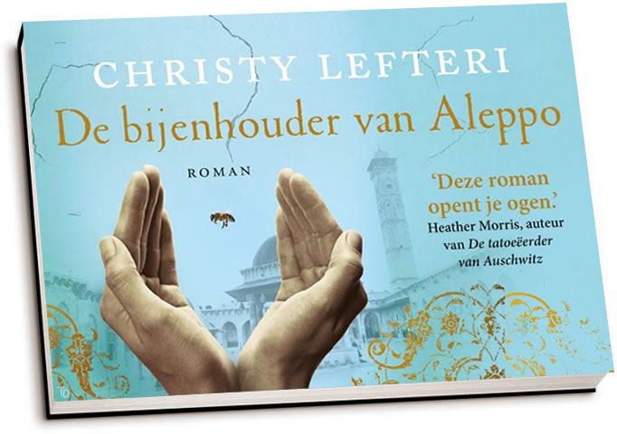 Christy Lefteri - De bijenhouder van Aleppo (dwarsligger)