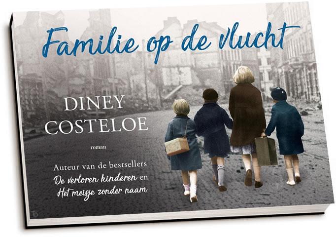 Diney Costeloe - Familie op de vlucht (dwarsligger)