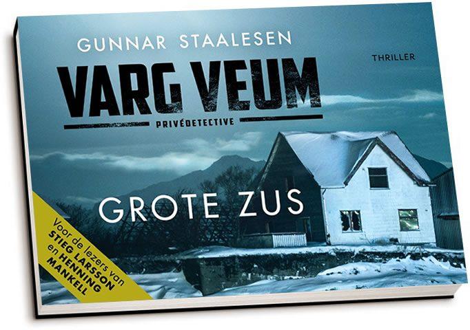 Gunnar Staalesen - Varg Veum / Grote zus (dwarsligger)