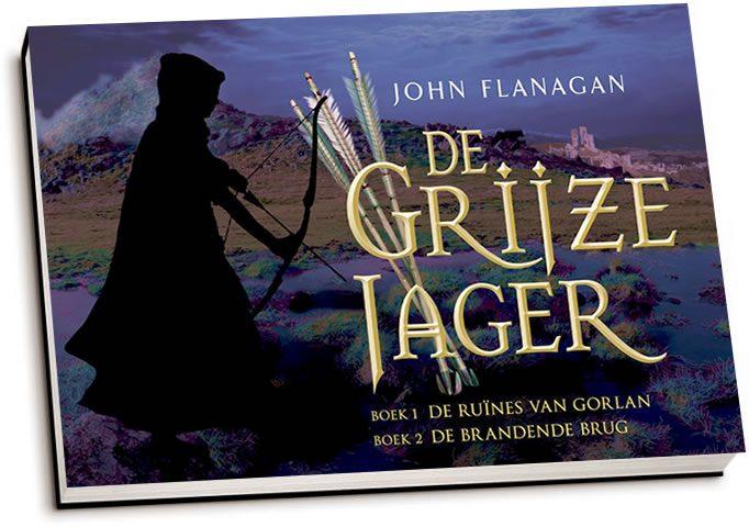 John Flanagan - De Grijze Jager / Boek 1 & 2 (dwarsligger)