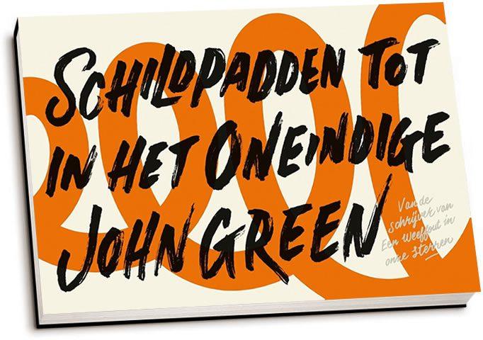 John Green - Schildpadden tot in het oneindige (dwarsligger)