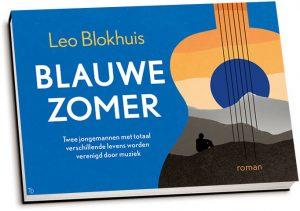 Leo Blokhuis - Blauwe zomer (dwarsligger)